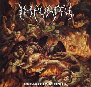 Unearthly Affinity (ep) cover art