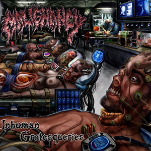 Inhuman Grotesqueries cover art