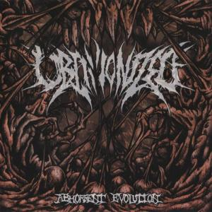 Abhorrent Evolution (EP) cover art