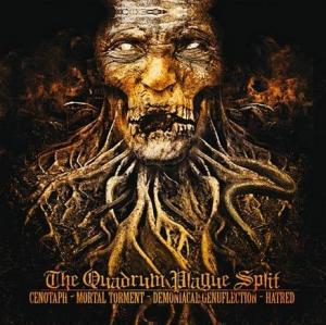 The Quadrum Plague Split cover art